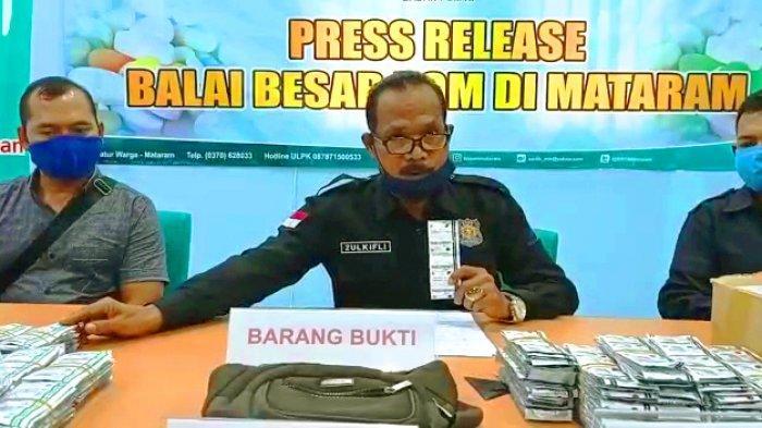 BBPOM di Mataram Gagalkan Peredaran 27.545 Tablet Obat Palsu