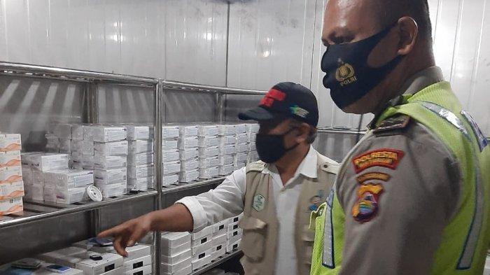405.994 Warga NTB Divaksin, Gudang Penyimpanan Vaksin Dijaga Ketat Polisi