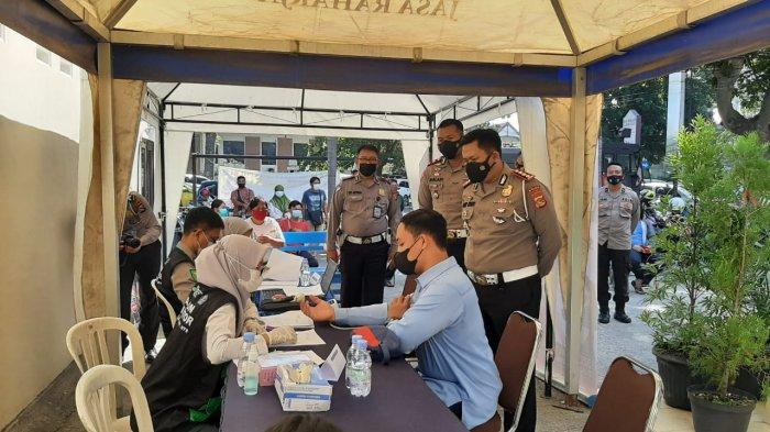 Anak-anak Bisa Datang Vaksin Covid-19 ke Gerai Polresta Mataram