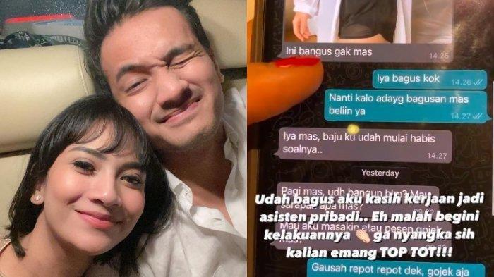 Chat Mesra Bibi dan Mayang Sary Dibongkar Vanessa Angel, Dituding Selingkuh: Pepet Terus Suami Orang