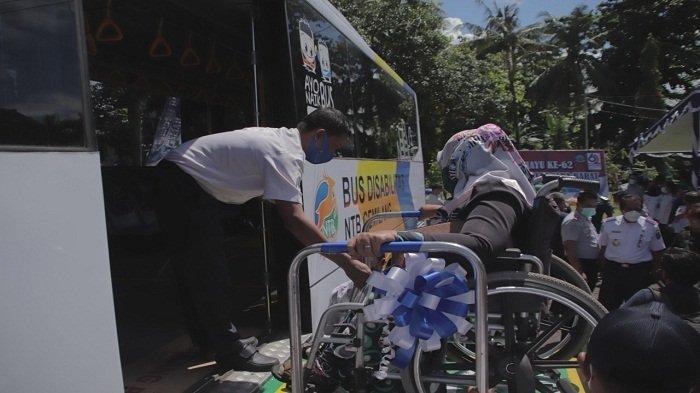 Kabar Gembira, NTB Punya Bus Khusus untuk Penyandang Disabilitas