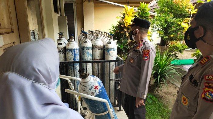Oksigen dan Bed Perawatan Pasien Covid-19 di Lombok Barat Masih Mencukupi