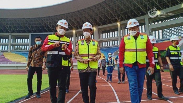 Panitia Piala Menpora Kunjungi Stadion Manahan, Gibran Berharap Solo Juga Ditunjuk Gelar Laga Final