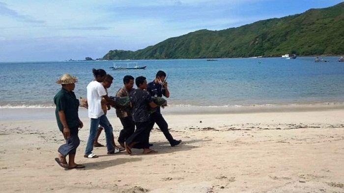 Sedang Bermain, Anak-anak Temukan Mayat Mengapung di Pantai Kuta Lombok