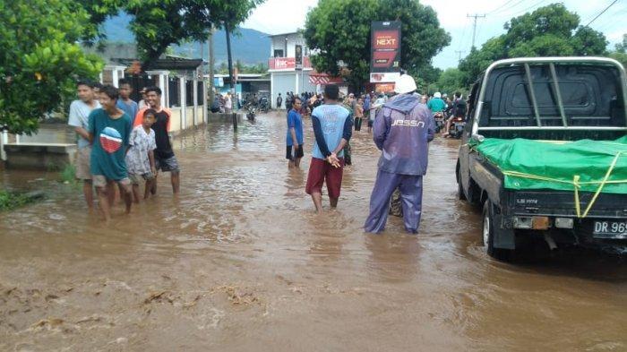 Dua Desa Lombok Timur Jadi Langganan Banjir, Warga Minta Perhatian Serius Pemerintah