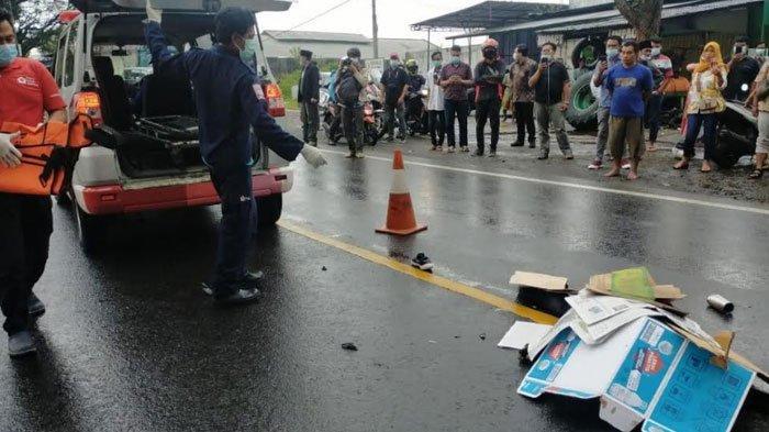 Kecelakaan Maut di Malang, Honda Vario Gagal Menyalip Truk, Satu Orang Tewas, ini Kronologinya