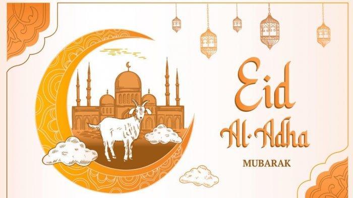 20 Gambar Ucapan Selamat Idul Adha 2021 Terbaru, Bisa Kamu Upload di Status FB, Instagram, Twitter