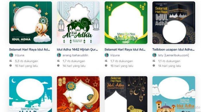 40 Link Twibbon Ucapan Selamat Hari Raya Idul Adha 1442 H, Download Gratis untuk Status WA, FB, IG
