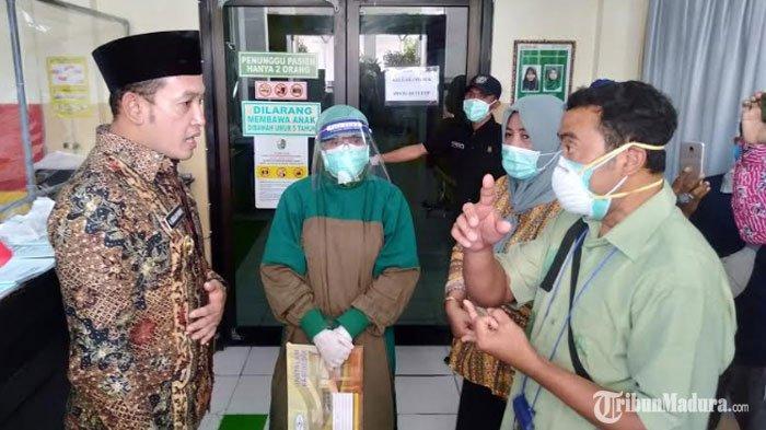 Wakil BupatiSampangMarah saat Sidak keRSUD dr Muhammad Zyn, Minta Direktur Evaluasi Para Dokter
