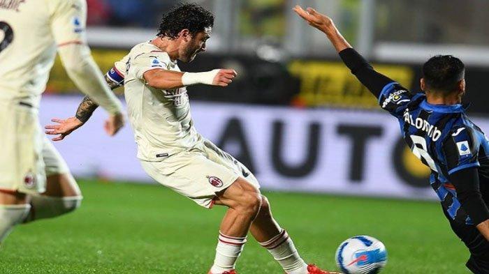 Hasil Liga Italia : AC Milan Taklukkan Tuan Rumah Atalanta, Tempel Ketat Napoli di Puncak Klasemen