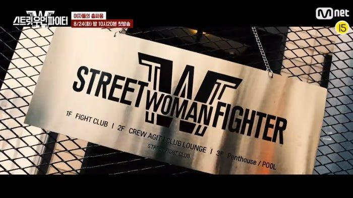 Acara Street Woman Fighter Mnet