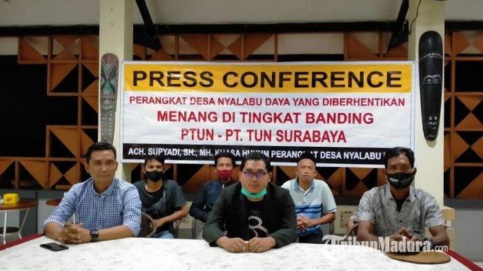 Polemik Pemberhentian 7 Perangkat Desa Nyalabuh Daya Inkrah, PTUN Batalkan SK Pemberhentian