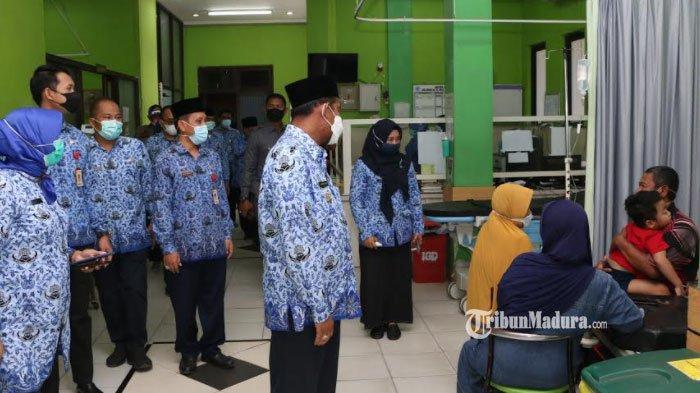 Bupati Sumenep Achmad Fauzi Sidak Kinerja ASN pada Hari Pertama Masuk Kerja setelah Libur Lebaran