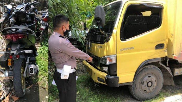 Adu Banteng Truk Boks Vs Sepeda Motor di Kediri, Satu Pengendara Asal Bojonegoro Tewas di Tempat