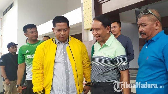 Menpora Zainudin Amali Gagal Masuk ke Stadion GBT, AnggotaDPRD Surabaya Sayangkan Sikap Pemkot