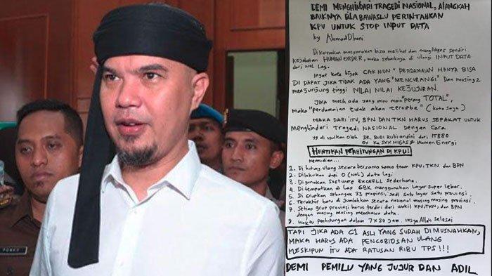 Meski Meraih 35 Ribu Suara, Ahmad Dhani Tetap Tidak Lolos ke Senayan, Juga Tiga Artis Ternama ini