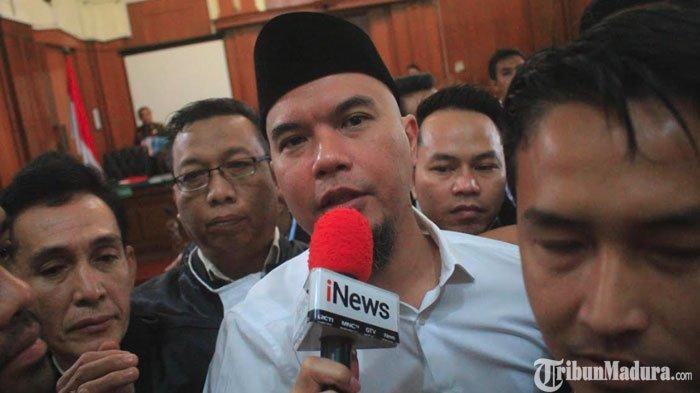 Ahmad Dhani Tolak Ditahan diRutan Klas I Surabaya, Sebut Dirinya Bukan Seorang Tahanan