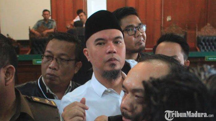 Berikut 5 Poin Eksepsi Kuasa Hukum Ahmad Dhani ke Majelis HakimPengadilan Negeri Surabaya