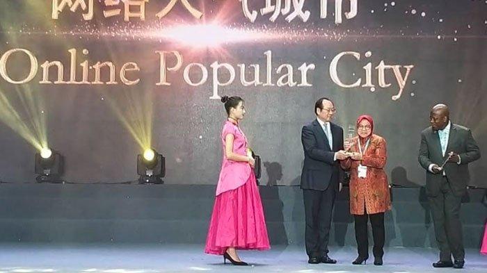 Kota Surabaya Bawa PulangPenghargaan Online Popular CityGuangzhou International Award 2018