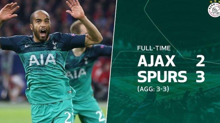Hattrick Dramatis Lucas Moura Antar Tottenham Rebut Tiket Final Liga Champions Hadapi Liverpool