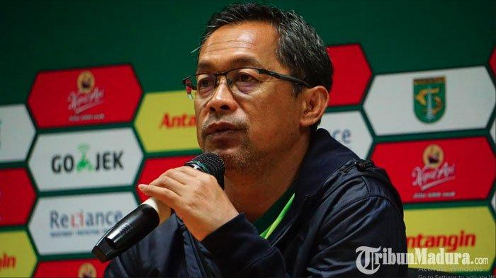 LagaPersija Jakarta Vs Persebaya Ditunda Karena Virus Corona, Aji Santoso Beri Respon Begini