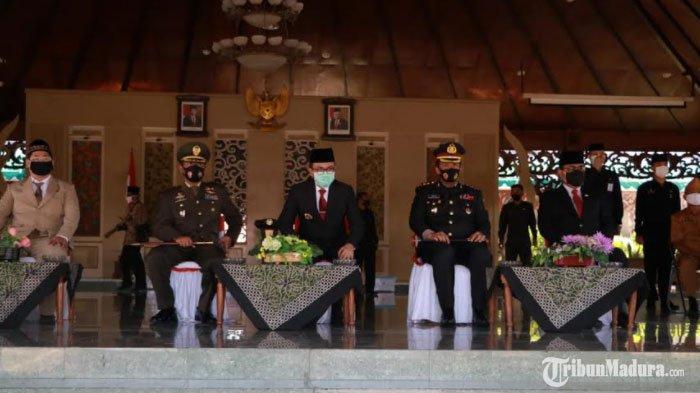 Kapolres Pamekasan Ingatkan Oknum PenggantiIsi Pancasila akan Berhadapan dengan TNI-Polri