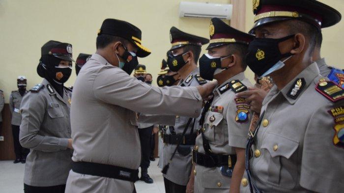 Polres Pamekasan Rotasi Jabatan Utama, Kapolres Harap Bisa Berikan Pelayanan Baik untuk Masyarakat