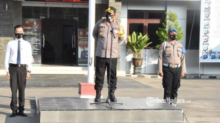 Pengamanan Idul Fitri 2021 di Pamekasan Berjalan Kondusif, Kapolres Apresiasi Kinerja Anggotanya