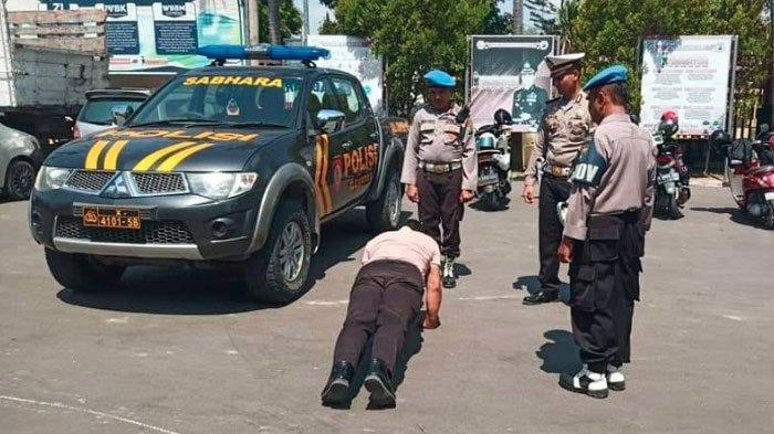 Oknum Polisi Ditilang saat Kemudikan Mobil Dinas Kepolisian karena Melawan Arah, Viral di Facebook