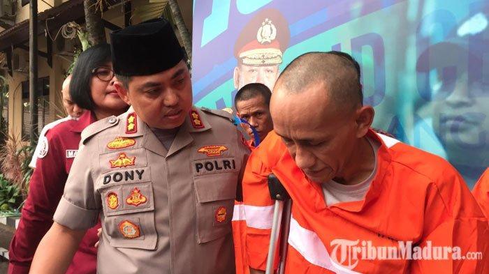 Kepergok Bobol Rumah Warga, Maling di Malang Lempari Polisi Pakai Batu,Dapat Hadiah Timah Panas