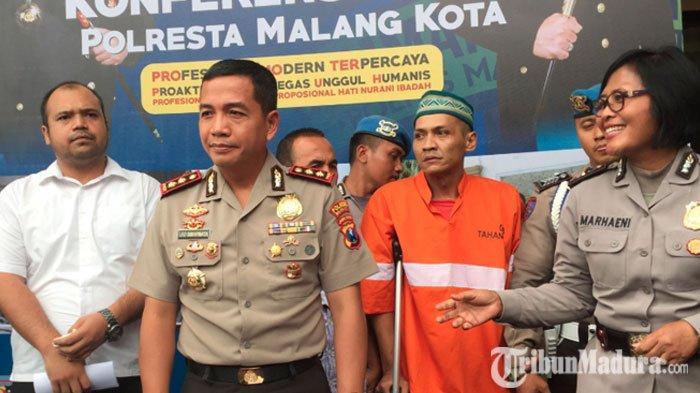 Sempat Kabur Seharian, TahananPolresta Malang Kota Kembali Ditangkap, Ternyata Sembunyi di Sini