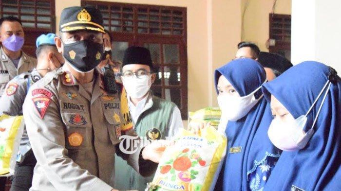 Polres Pamekasan Gelar Vaksinasi Merdeka Serentak di Ponpes Miftahul Qulub, Target 1300 Vaksin