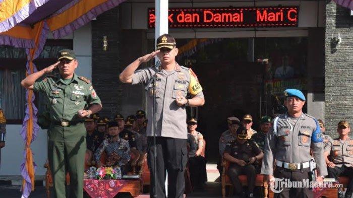 Kapolres Pamekasan Pindah Tugas, AKBP Teguh Wibowo Kunjungi Sejumlah Ulama dan Ponpes untuk Pamitan