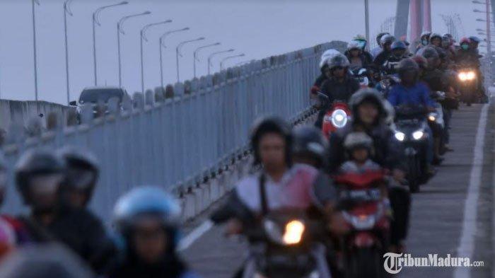 Penyekatan di Jembatan Suramadu saat Masa Larangan Mudik Lebaran, 450 Aparat Gabungan Diterjunkan