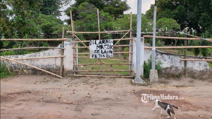 Warga Blokir Akses Masuk Situs Kumitir Mojokerto dari TPU Dusun Bendo, Sering Ada Kerusakan Makam