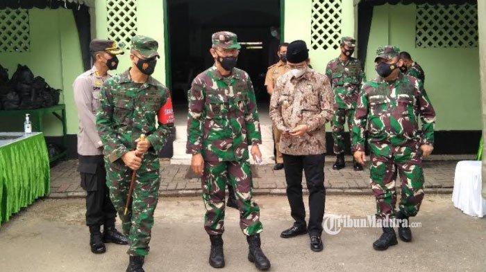 Gelar Aksi Bela Negara di Markas Kodim 0829 Bangkalan, Waaster Panglima TNI Sampaikan Pesan ini