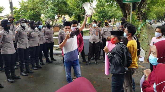 Gelar Aksi Solidaritas untuk Gadis yang Ditembak Militer Myanmar, Gempar Sumenep Sampaikan Tuntutan