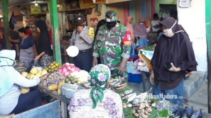 Cegah Klaster Pasar,Ribuan Pedagang di Pamekasan Terdaftar sebagai Penerima Vaksinasi Covid-19
