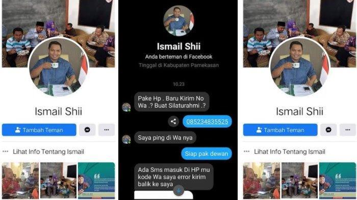 Muncul Akun Palsu FacebookKetua Komisi III DPRD Pamekasan,Ismail Minta Warga Tak Tertipu Pelaku