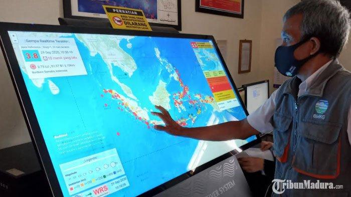 BMKG Karangkates Malang Jawab soal Potensi Tsunami Puluhan Meter di Pesisir Selatan Akibat Gempa