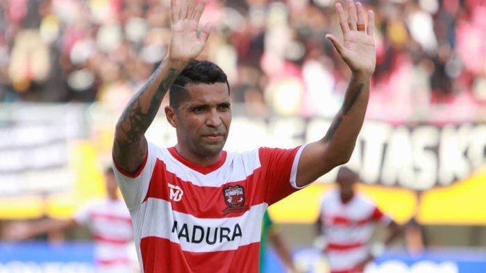 Sriwijaya FC Vs Madura United,Beto Goncalves Tepati Janji Cetak Gol untuk Laskar Sapeh Kerrab