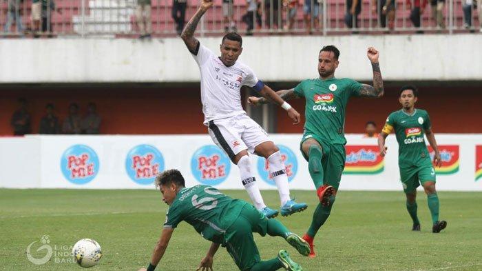 Dua Kali Ungguli Tim Tuan Rumah,Madura United hanya Mampu Bermain Imbang di KandangPSS Sleman
