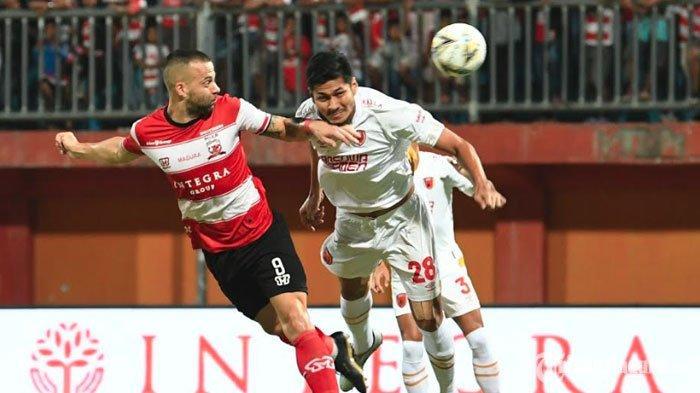 Madura United Makin Benamkan Perseru Badak Lampung FC Berkat Gol Kedua Aleksandar Rakic