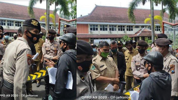 Alpart Demo ke Pemkab Pamekasan, Tindaklanjuti Penyaluran BPNT Amburadul & Agen E-Warung Bermasalah