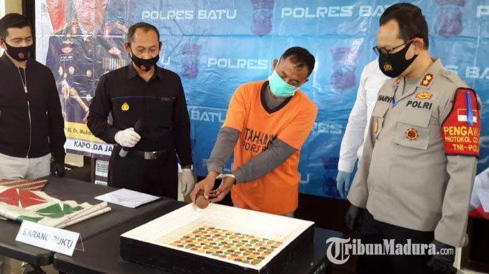 Polres Batu Gulung Bandar Judi Cap Jiki Pasar Besar Kota Batu, Omzet Rp 500 Ribu Dalam Tiga Jam