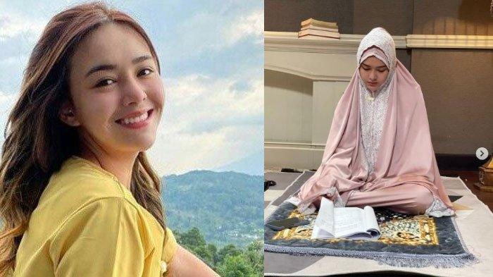 Isu Amanda Manopo Mualaf, Sering Unggah Kata-Kata Mutiara Islam di Instagram, ini Kata Pemeran Andin