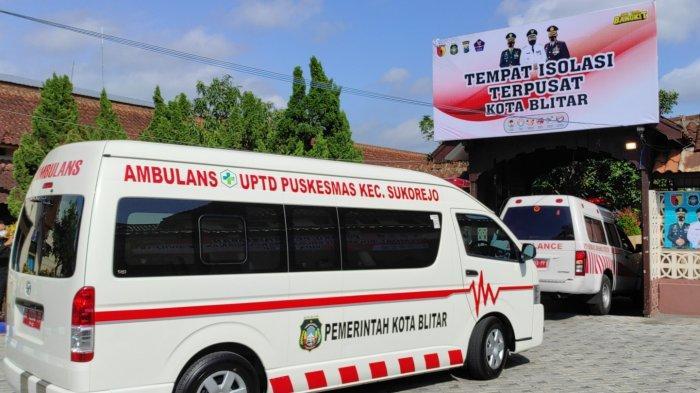 Sejumlah Pasien Covid-19 Dipindahkan ke Tempat Isolasi Terpusat di Asrama Kampus PGSD UM Kota Blitar