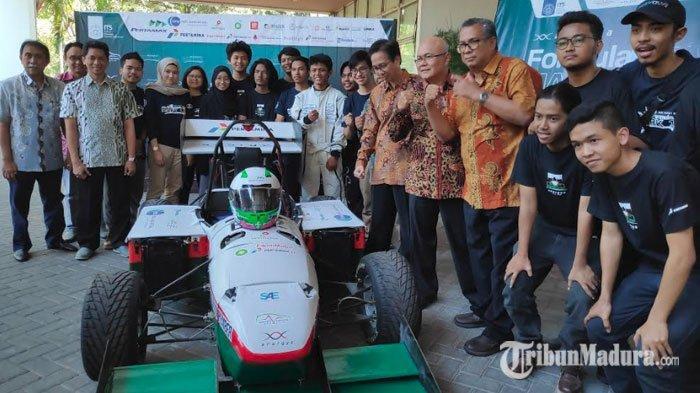 ITS Launching Mobil Listrik Cepat Anargya EV MARK 1.0, Disiapkan untuk Kompetisi di Jepang