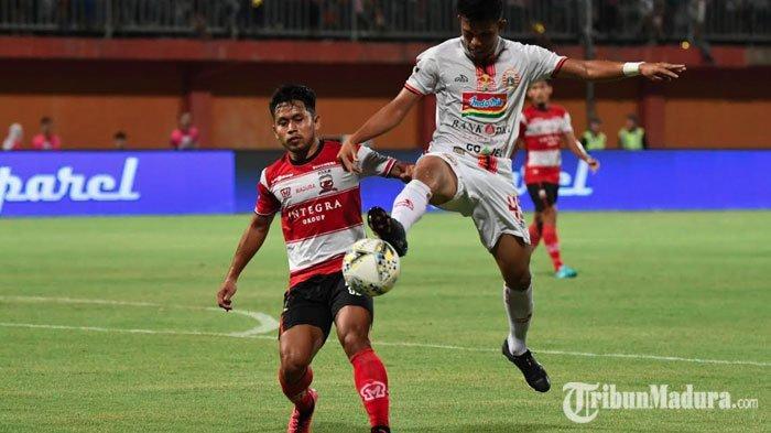 Madura United Kalahkan PS Tira Persikabo,Andik Vermansah Syukuri Hasil Laga Meski Menang Tipis