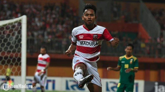 Madura United Masih TanpaAndik Vermansah LawanPS Tira Persikabo pada Laga LanjutanLiga 1 2019